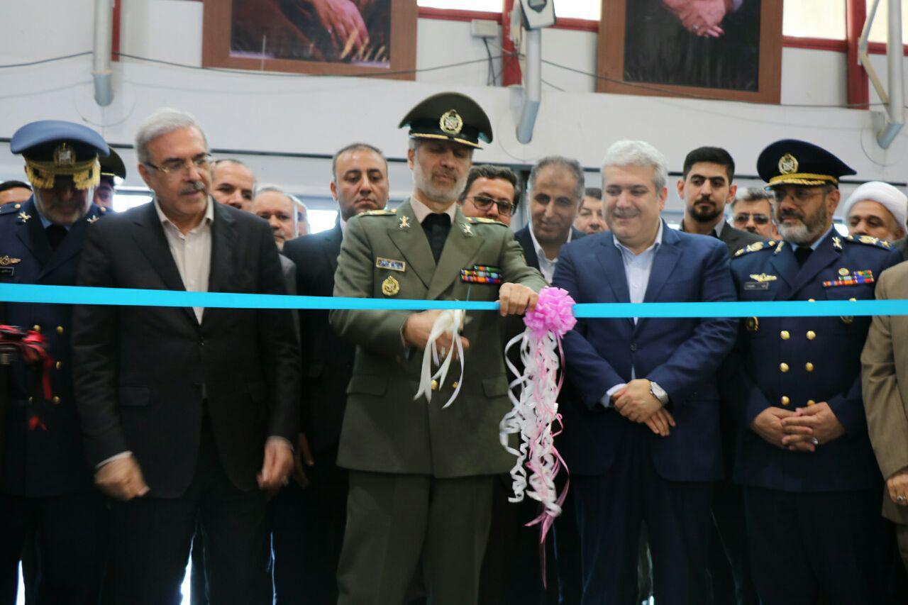 گزارش تصویری افتتاح نهمین نمایشگاه بین المللی صنایع هوایی و هوانوردی ایران در جزیره کیش – عکاس : نسرین فائق