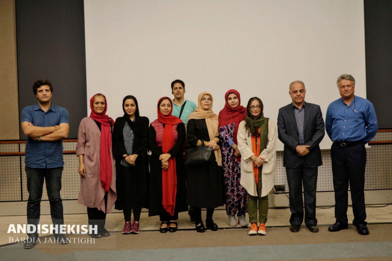 گزارش تصویری :نمایش فیلم کوتاه مستند (( خانم ف )) / عکس : بردیا جهان تیغی