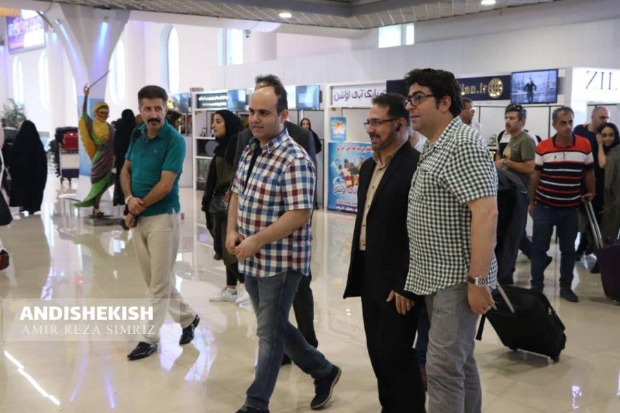 گزارش تصویری: ورود مهمانان جشنواره موج به فرودگاه کیش و بازدید از شهر زیرزمینی/عکس : امیررضا سیم ریز