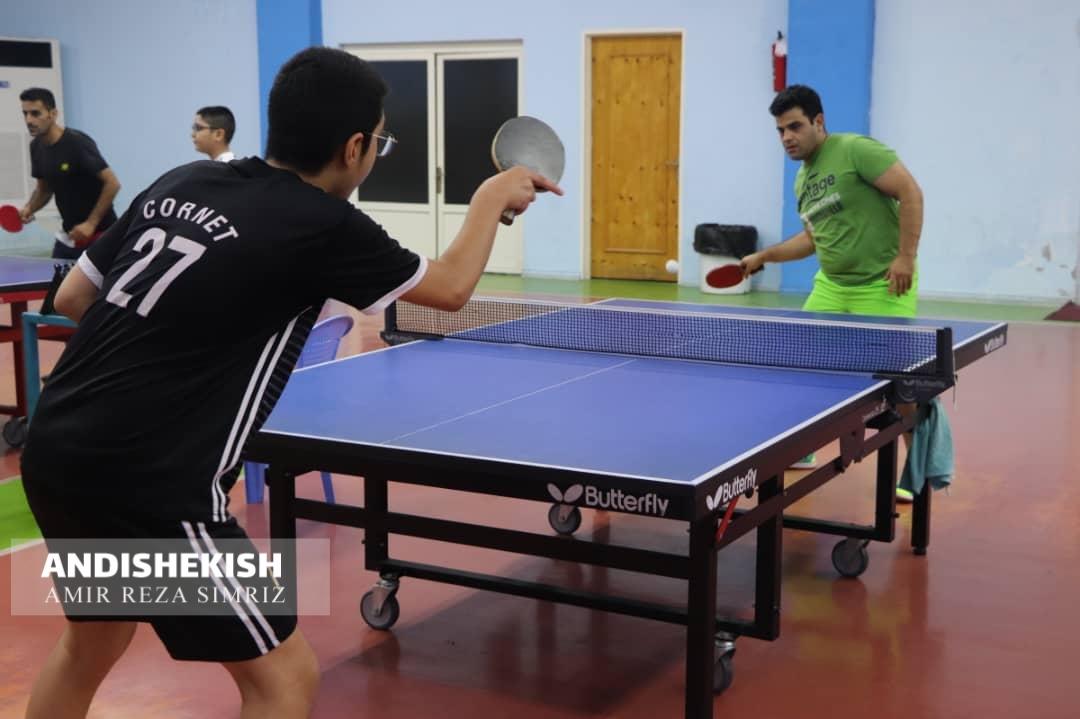 برگزاری مسابقات تنیس روی میز گرامیداشت هفته دفاع مقدس