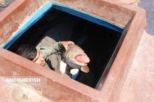 گزارش تصویری : کشف شناورهای حامل سوخت قاچاق و صید غیر مجاز در آب های سرزمینی کیش/ عکس : امیررضا سیم ریز