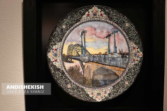 گزارش تصویری : نمایشگاه مینا کاری شیرین ذاکری در گالری میکا کیش / عکس : امیررضا سیم ریز