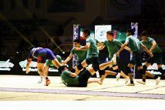 گزارش تصویری : مسابقات کبدی قهرمانی جوانان جهان در کیش/عکس : نسرین فائق