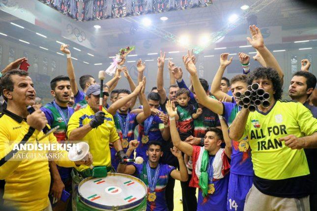 گزارش تصویری : فینال رقابت های کبدی قهرمانی جوانان جهان در کیش / عکس : نسرین فائق