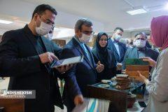 گزارش تصویری : گشایش نمایشگاه صنایع دستی بانوان هنرمند جزیره کیش /عکس: نسرین فائق – امیررضا سیم ریز