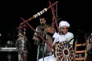 گزارش تصویری : اجرای موسیقی جنوبی در شب موسیقی جزیره ( مجموعه ساحلی آوای خلیج فارس)/عکس : نسرین فائق