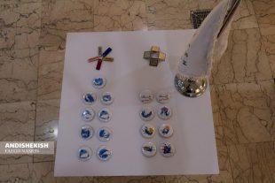 گزارش تصویری :شروع به کار نمایشگاه هویت بصری کیش در نگارخانه بین المللی هنر معاصر کیش/عکس:نسرین فائق/شمسی منتی نوکانی