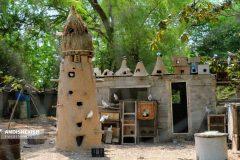 گزارش تصویری : بازدید معاون گردشگری سازمان منطقه آزاد کیش از باغ خلاق گردشگری، خانه زنان بومی/ عکس نسرین فائق