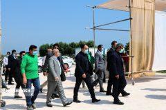 گزارش تصویری : مدیرعامل سازمان منطقه آزاد کیش از روند برگزاری سمپوزیوم مجسمه سازی هفت سنگ کیش / عکس : نسرین فائق
