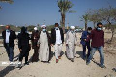 گزارش تصویری :  بازدید امام جمعه جزیره کیش از سواحل آزادسازی شده کیش/عکس : نسرین فائق